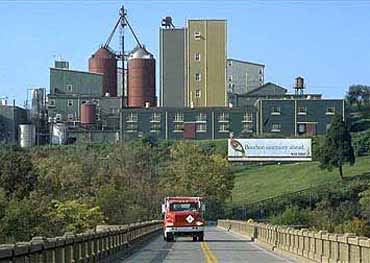 The Wild Turkey Distillery in Lawrenceburg, Kentucky